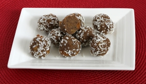 Gingerbread Protein Bites